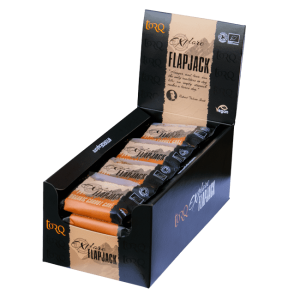 Box of 20 TORQ Explore Carrot Cake Flapjacks