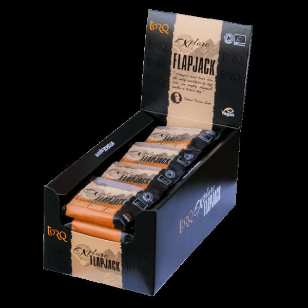 Box of 20 TORQ Explore Carrot Cake Flapjacks