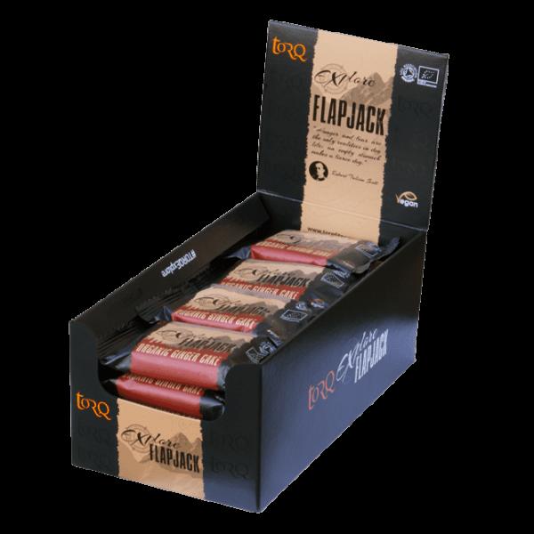 Box of 20 TORQ Explore Ginger Cake Flapjacks